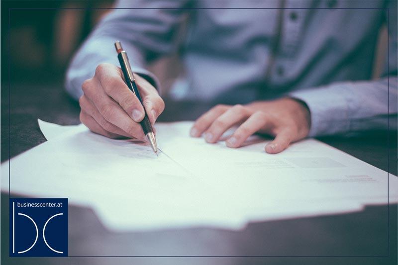 Rechnung schreiben –Rechnungslegung